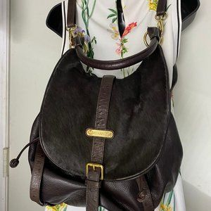 Cynthia Rowley Bags - Cynthia Rowley Dark Brown Leather Backpack